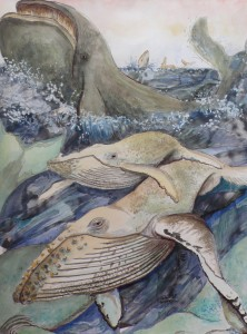 Walvissen verzamelen
